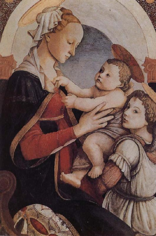 Sandro Botticelli Our Lady of the Son and the Angels