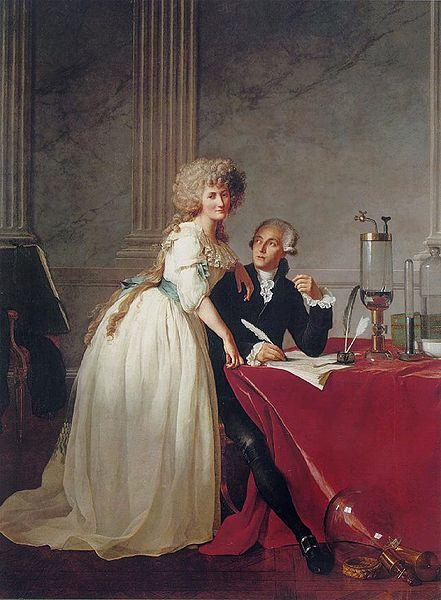 Jacques-Louis David Portrait of Monsieur Lavoisier and His Wife