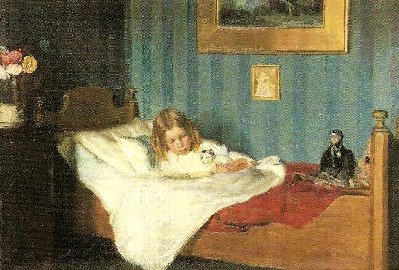 Michael Ancher en rekonvalescent. ca