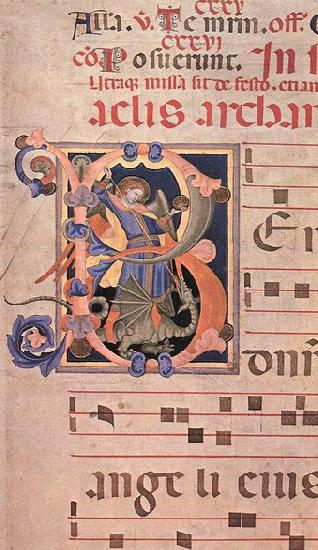 unknow artist Fragment of a Gradual