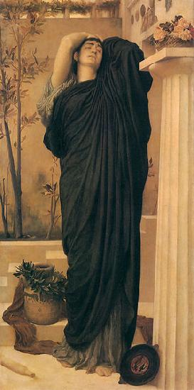 Lord Frederic Leighton Electra at the Tomb of Agamemnon