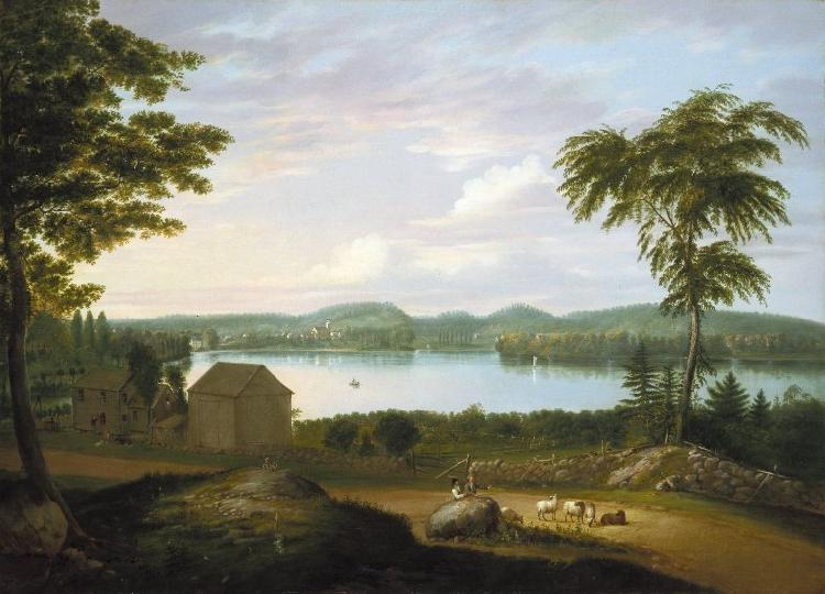 Alvan Fisher View of Springfield on the Connecticut River