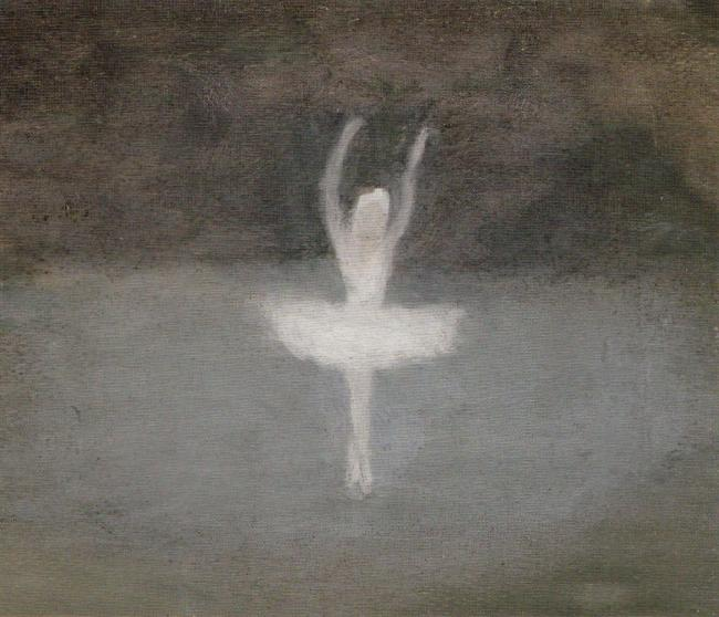 Clarice Beckett Dying Swan