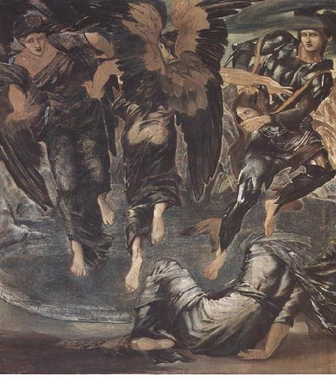Edward Burne-Jones The Death of Medusa by Edward Burne Jones