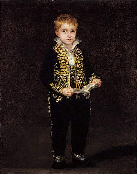 Francisco de Goya Portrait of Victor Guye