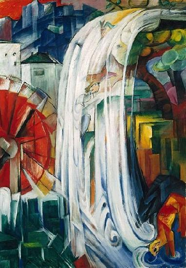 Franz Marc Bewitched Mill