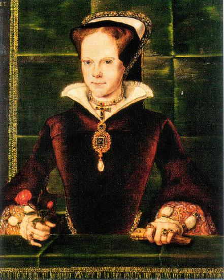 Hans Eworth Mary I of England