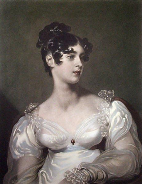 Sir Thomas Lawrence Portrait of Lady Elizabeth Leveson-Gower, later Marchioness of Westminster, wife of the 2nd Marquess of Westminster