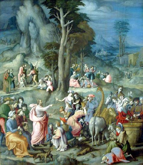 BACCHIACCA The Gathering of Manna