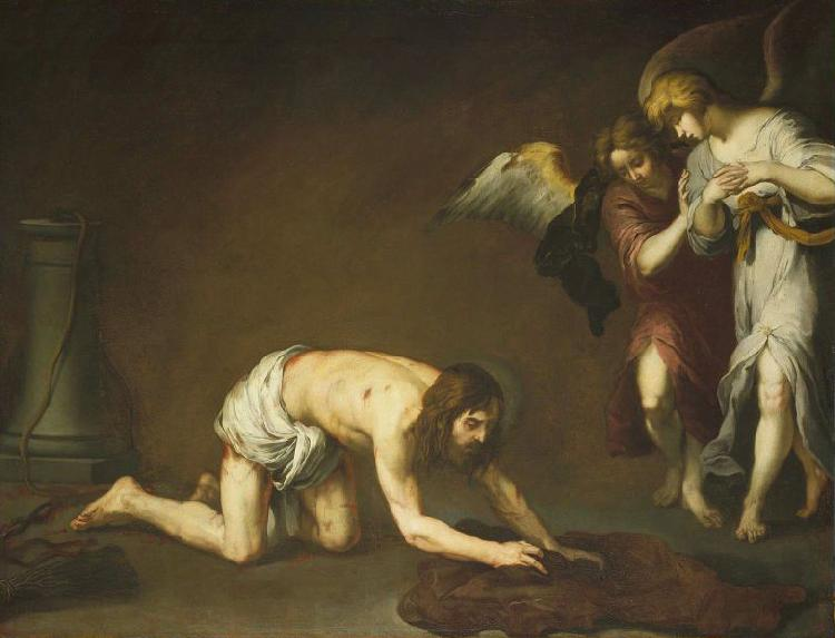 Bartolome Esteban Murillo Christ after the Flagellation