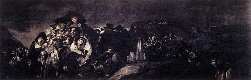 Francisco de Goya A Pilgrimage to San Isidro