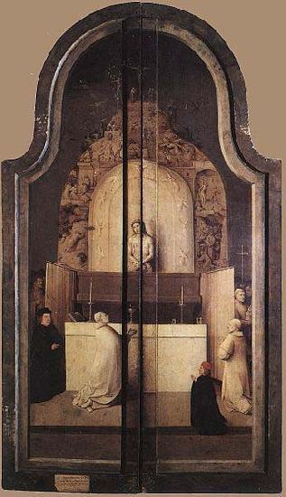 Hieronymus Bosch Triptych of The Adoration of the Magi