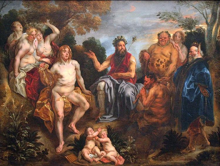Jacob Jordaens The Judgement of Midas