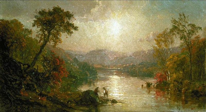 Jasper Francis Cropsey Indian Summer