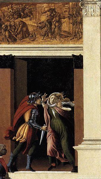 Sandro Botticelli The Story of Lucretia