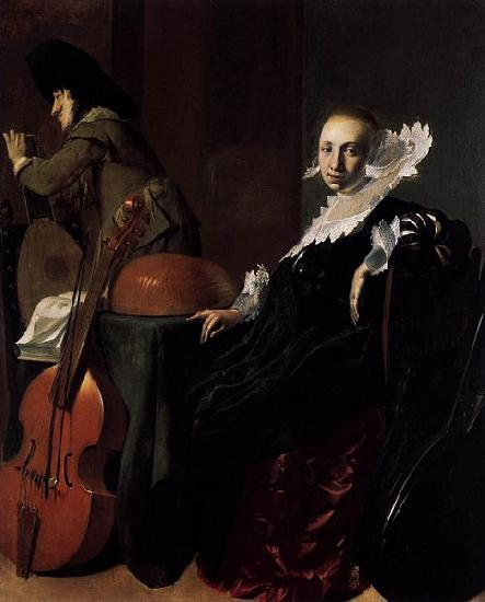 Willem Cornelisz. Duyster Music-Making Couple