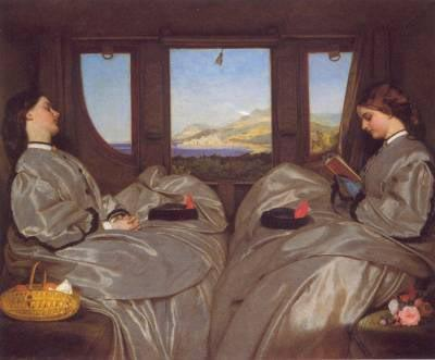 Augustus Egg The Travelling Companions