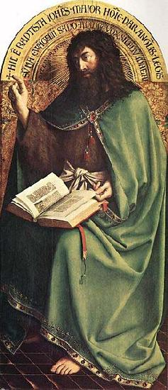 Jan Van Eyck St John the Baptist