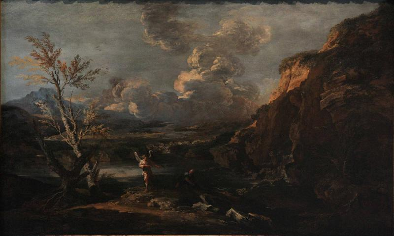Salvator Rosa Landscape with Tobit and the angel