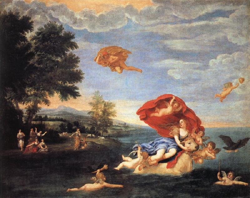 Albani Francesco The Rape of Europa