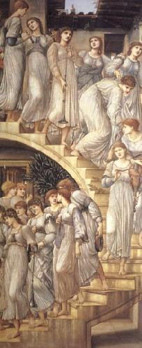 Burne-Jones, Sir Edward Coley The Golden Stairs