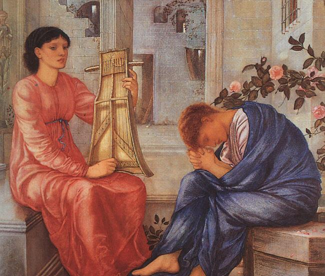 Burne-Jones, Sir Edward Coley The Lament