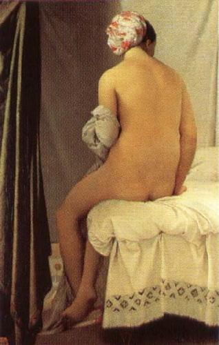 Jean Auguste Dominique Ingres La Baigneuse de Valpincon