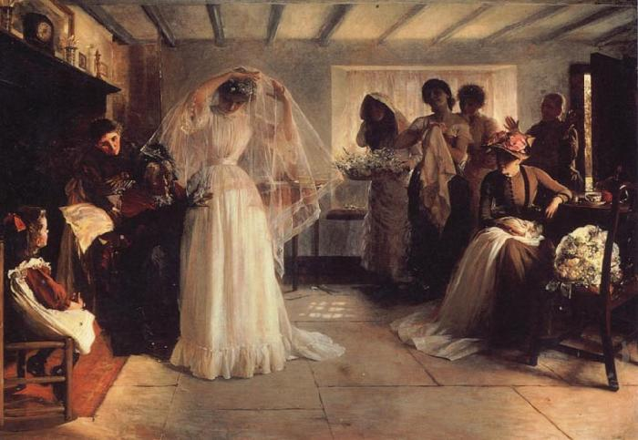 John H F Bacon The Wedding Morning