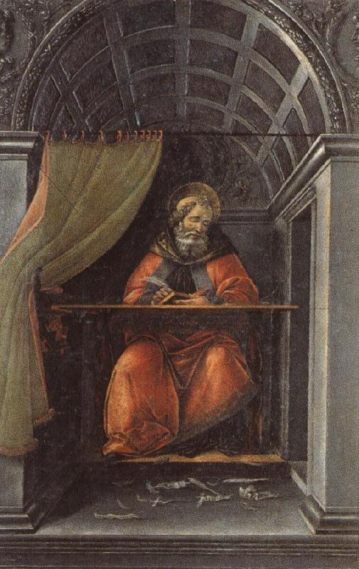 Sandro Botticelli St.Augustine in His Study