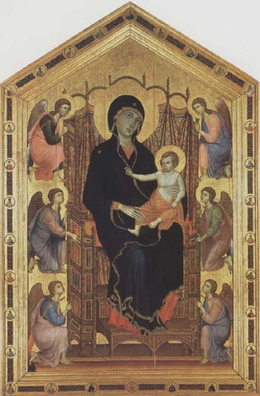 Duccio di Buoninsegna Madonna and Child with Angels