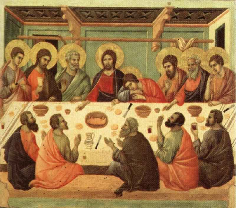 Duccio di Buoninsegna Last Supper