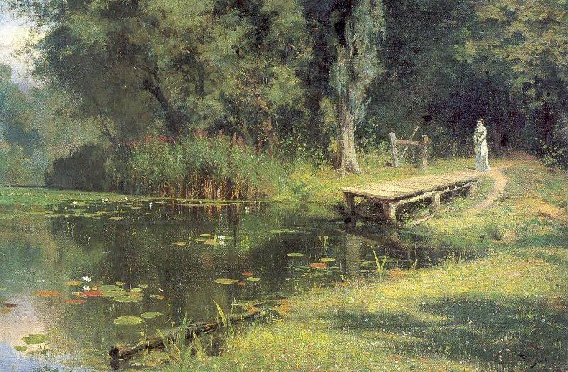 Polenov, Vasily Overgrown Pond