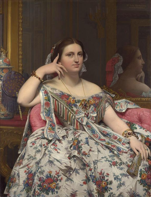 Jean Auguste Dominique Ingres Madame Moitessier Seated (mk09)