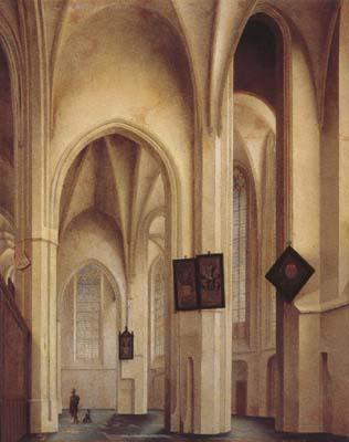 Pieter Jansz Saenredam Church Interior in Utreche (mk08)