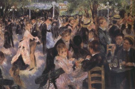 Pierre-Auguste Renoir Ball at the Moulin de la Galette (nn03)