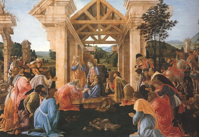 Sandro Botticelli Adoration of the Magi (mk36)