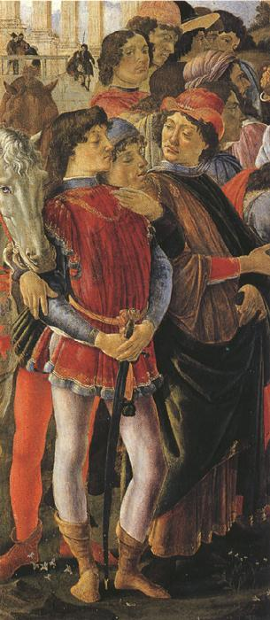 Sandro Botticelli Adoation of the Magi (mk36)