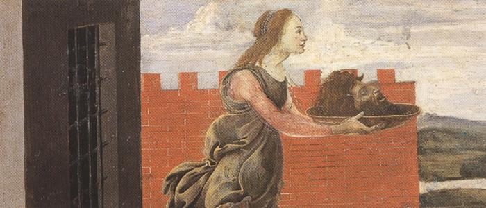 Sandro Botticelli Salome with the head of St john the Baptist (mk36)
