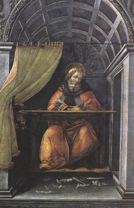Sandro Botticelli St Augustine in his Study (mk36)