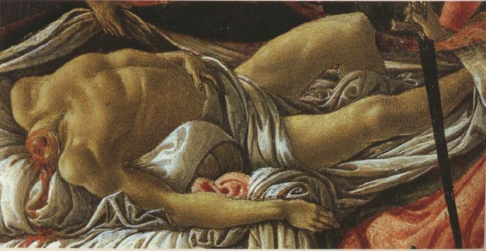 Sandro Botticelli Discovery of the Body of Holofernes (mk36)