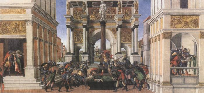Sandro Botticelli Stories of Lucretia (mk36)
