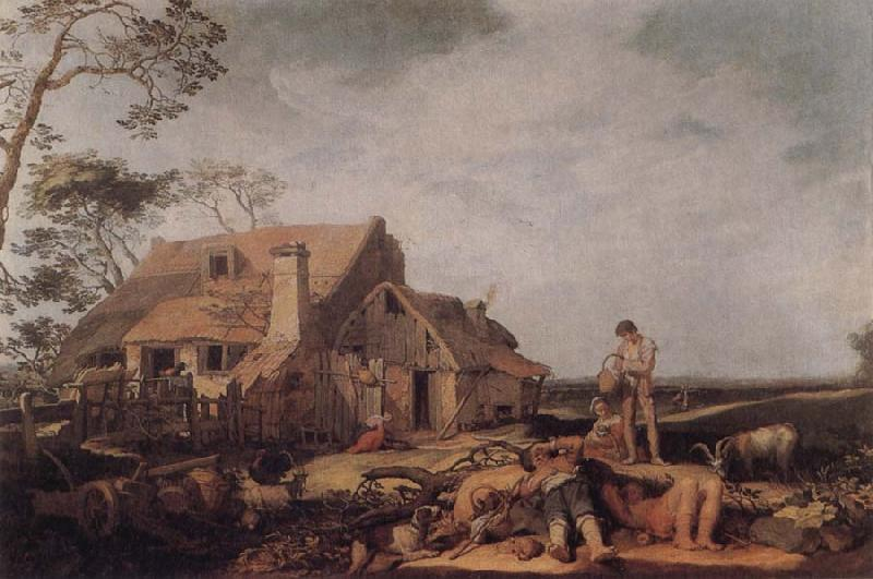 BLOEMAERT, Abraham Landscape with Peasants Resting