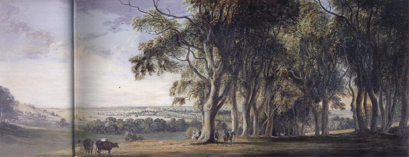 SANDBY, Paul View of WIndsor from Snow Hill