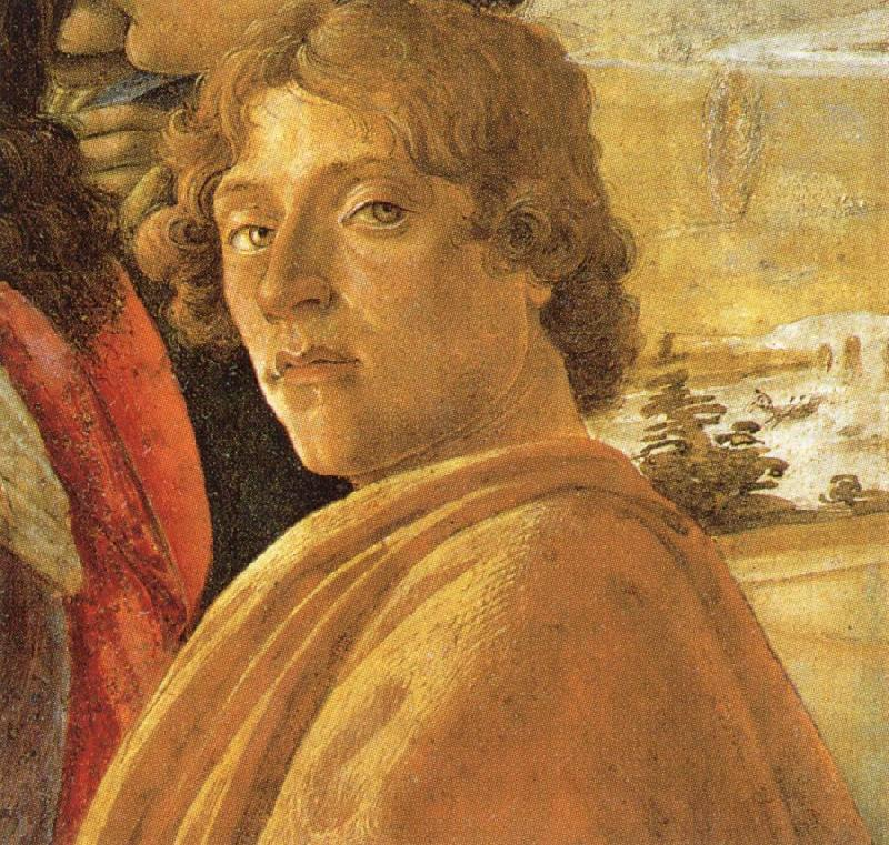 Sandro Botticelli Self-Portrait