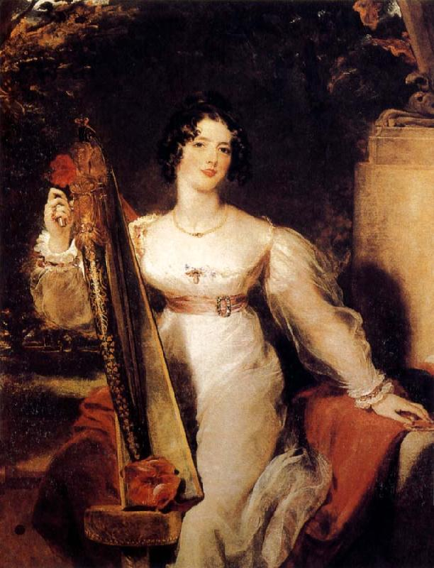 Sir Thomas Lawrence Portrait of Lady Elizabeth Conyngham